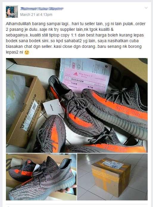 testimoni beli kasut dari china secara online