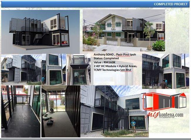 testimoni completed project rumah kontena soho