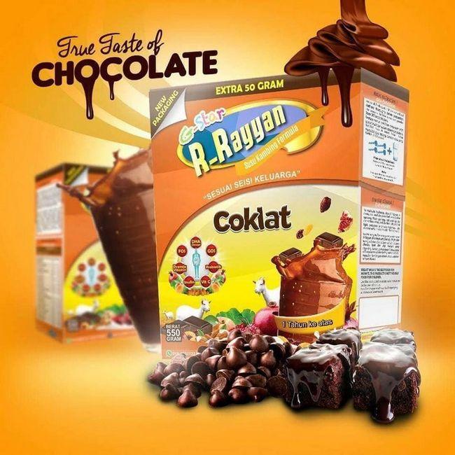 tips menaikkan berat badan anak dengan susu coklat r-rayyan