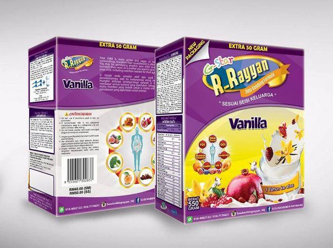 tips menaikkan berat badan anak dengan susu vanilla r-rayyan