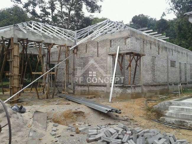 bina rumah dan ubahsuai rumah dan dapur dengan kos rendah