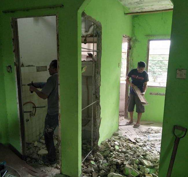 renovation rumah sedia ada dengan kos rendah