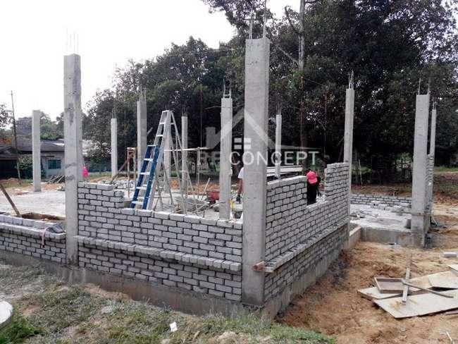 pembinaan bangunan dengan kos rendah