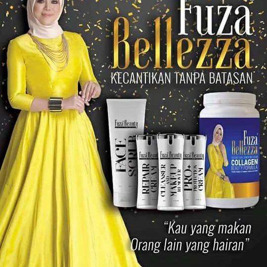 gunakan fuza belleza untuk atasi muka breakout
