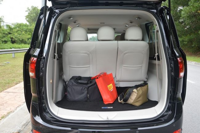 ruang simpanan barang Maxus G10