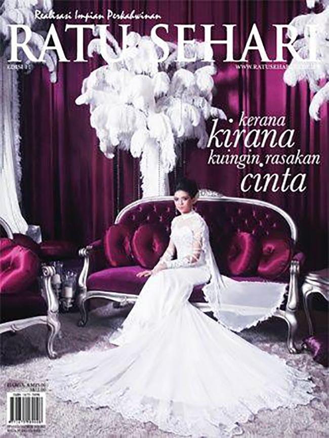 Cinta Majalah Perkahwinan No 1 Malaysia Ratu Sehari