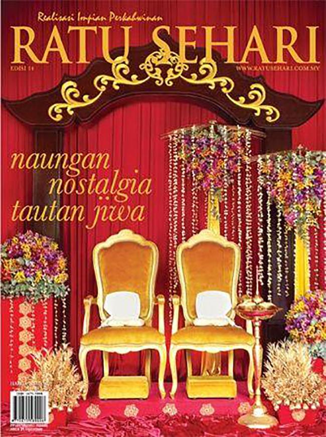 Sanding Majalah Perkahwinan No 1 Malaysia Ratu Sehari