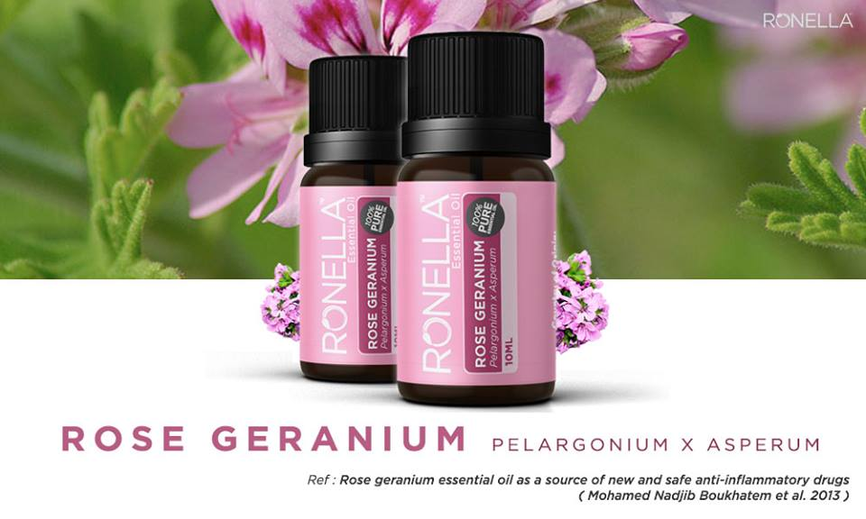 Ronella ROSE GERANIUM Essential Oil (RGEO)