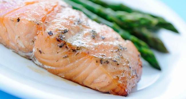 Serunding Ikan Merah Salmon