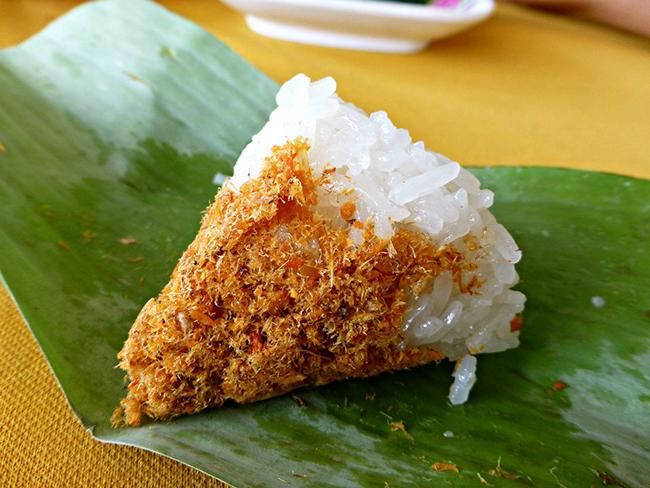 Serunding Ikan Merah Nasi