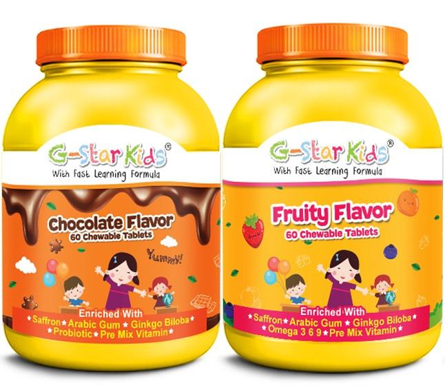 Ada antara Vitamin Terbaik Untuk Kanak-kanak