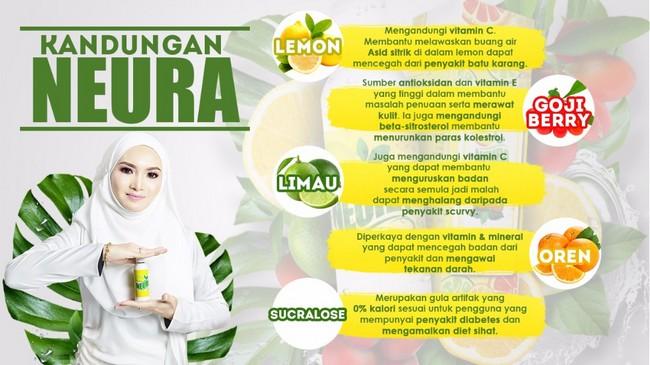 kandungan neura lemon turunkan berat badan dengan cepat