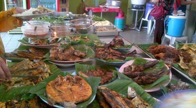 kedai nasi campur sedap dan murah di pulau langkawi