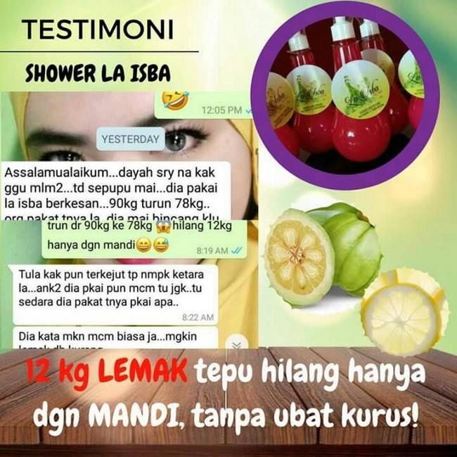 manfaat pengguna mandian kurus la isba