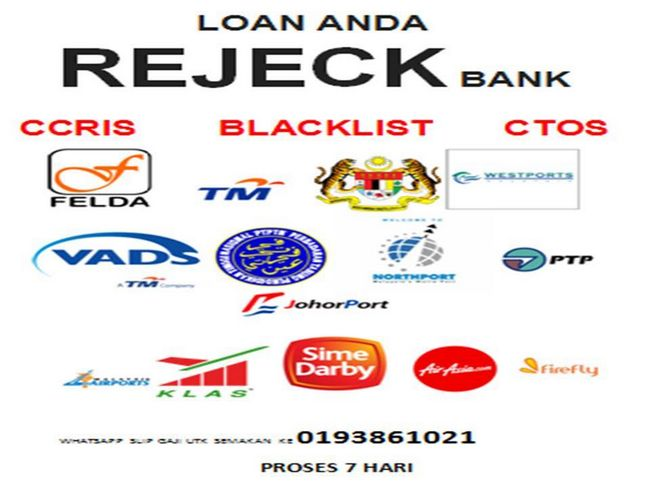 cara elak loan bank reject