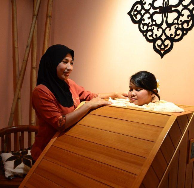 rawatan FIR sauna spa terbaik di MITC melaka