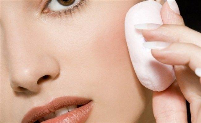 rawatan untuk kulit muka sensitif dengan bedak meresap