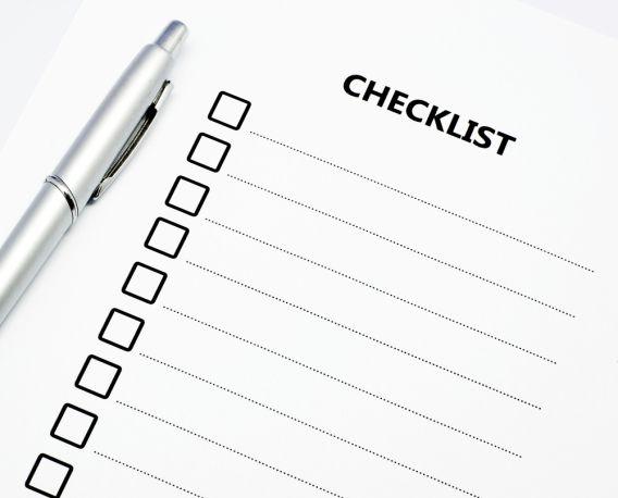buat checklist tips kahwin guna bajet rendah