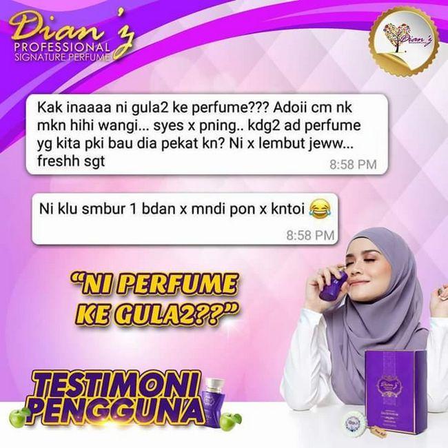feedback testimoni pengguna dianz vitamin dan cosmetics