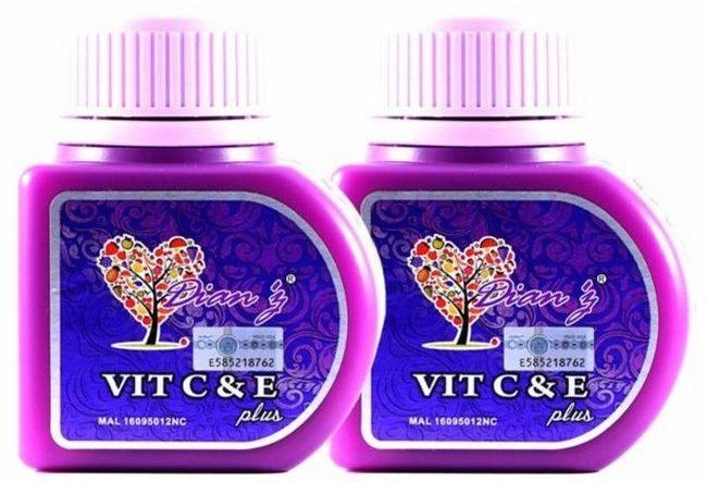 kelebihan mengamalkan vitamin C dan E