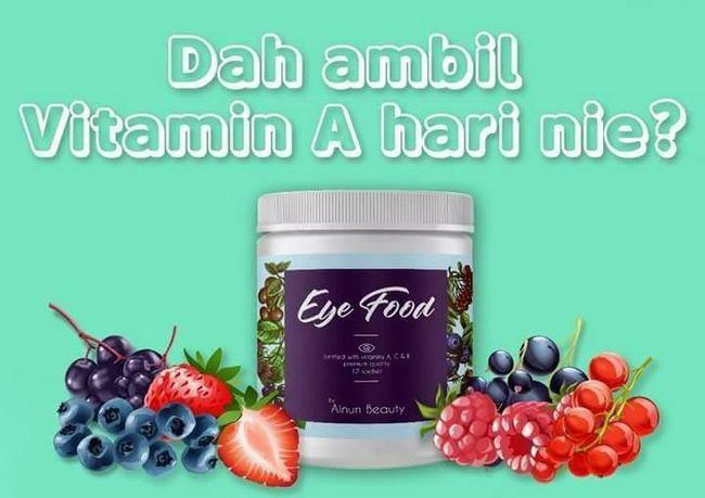 vitamin untuk kesihatan mata elak rabun