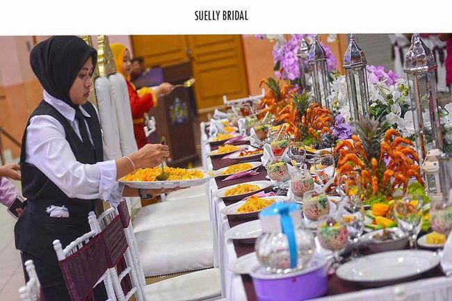 pakej temenggong wedding planner murah di johor dengan catering