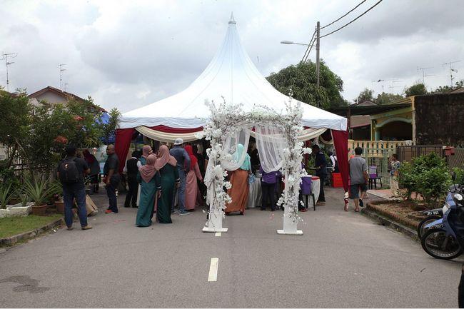 kanopi dan wedding planner murah di johor