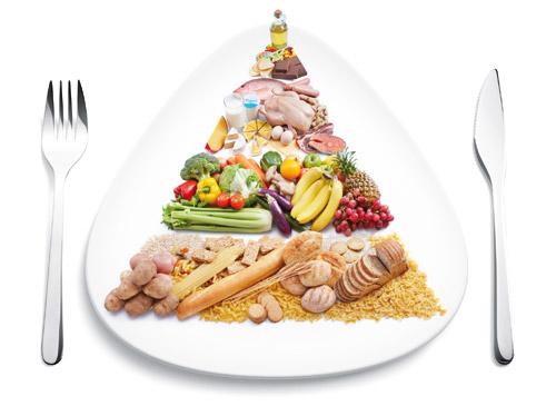 cara mudah bakar lemak dengan makanan seimbang