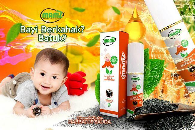kebaikan mamz untuk merawat batuk dan kahak bayi