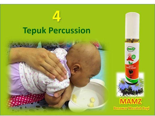 cara merawat batuk dan kahak bayi dengan tepuk percussion