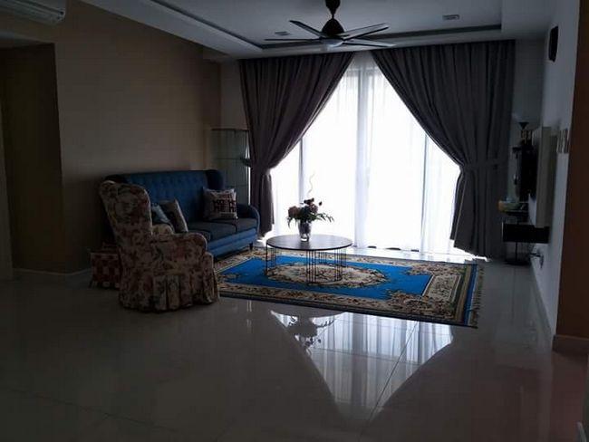 ruang tamu homestay murah di jb