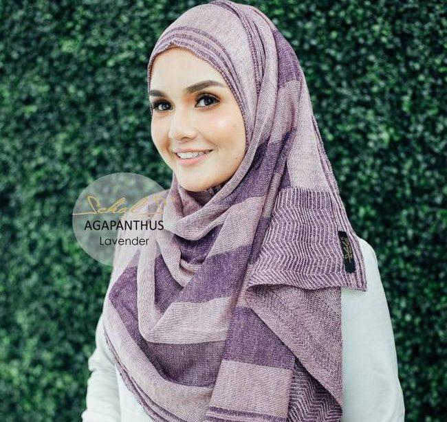 instant shawl schals lavender