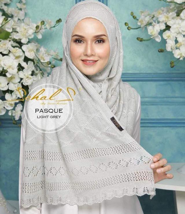 panduan memilih shawl lebar dan labuh