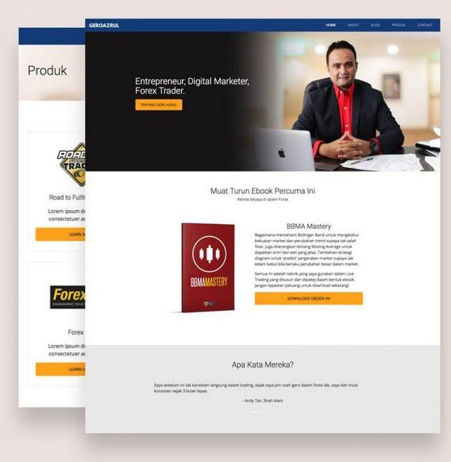 servis upah buat website dan blog