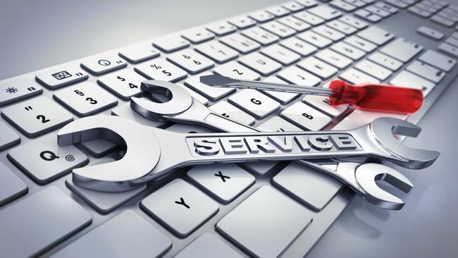 servis upah buat website service