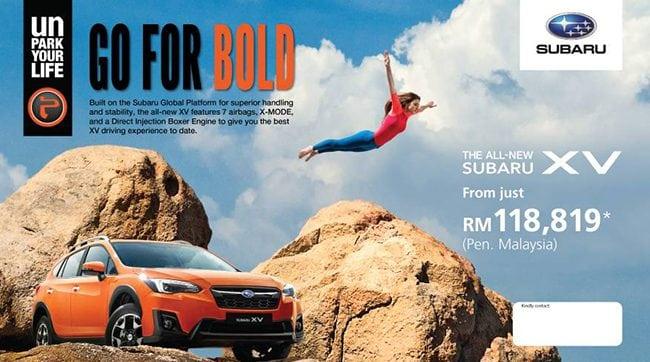 Promosi Beli Kereta Subaru XV dan Forester Murah di Johor Bahru Berkesan