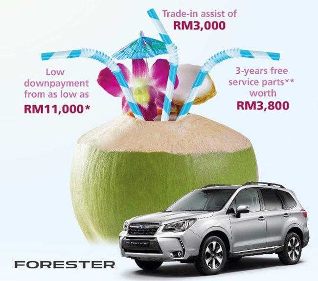 Promosi Beli Kereta Subaru XV dan Forester Murah di Johor Bahru Suami