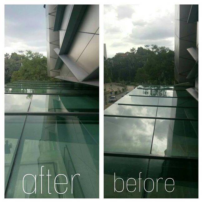 High Rise Windows and External Facade Cleaning Excellent