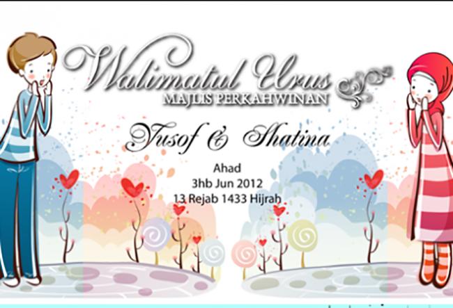 Kedai Printing Kad Kahwin Murah di Shah Alam