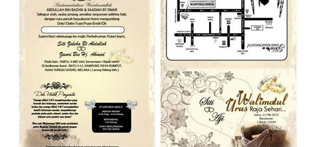 Kedai Printing Kad Kahwin Pantas