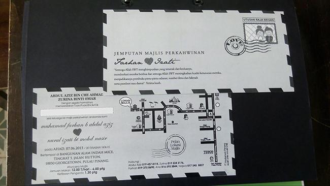 Kedai Printing Kad Kahwin Surat