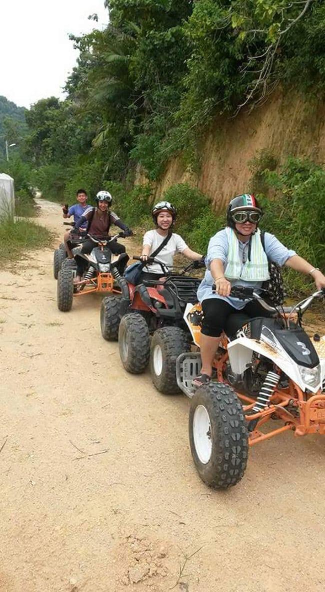 Pakej percutian ke Pulau Pangkor ATV