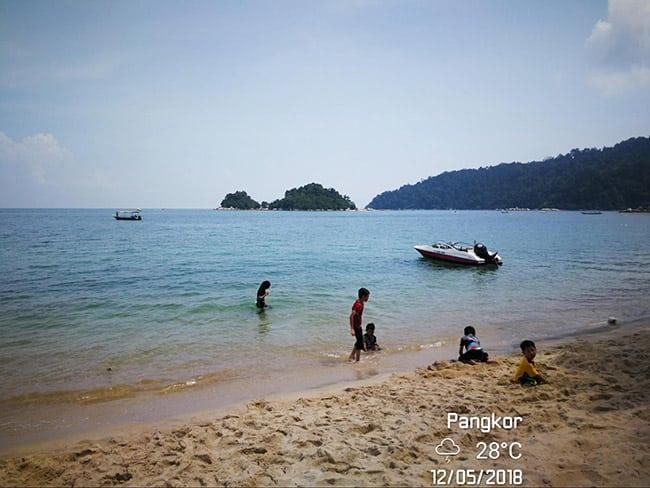 Pakej percutian ke Pulau Pangkor Panas
