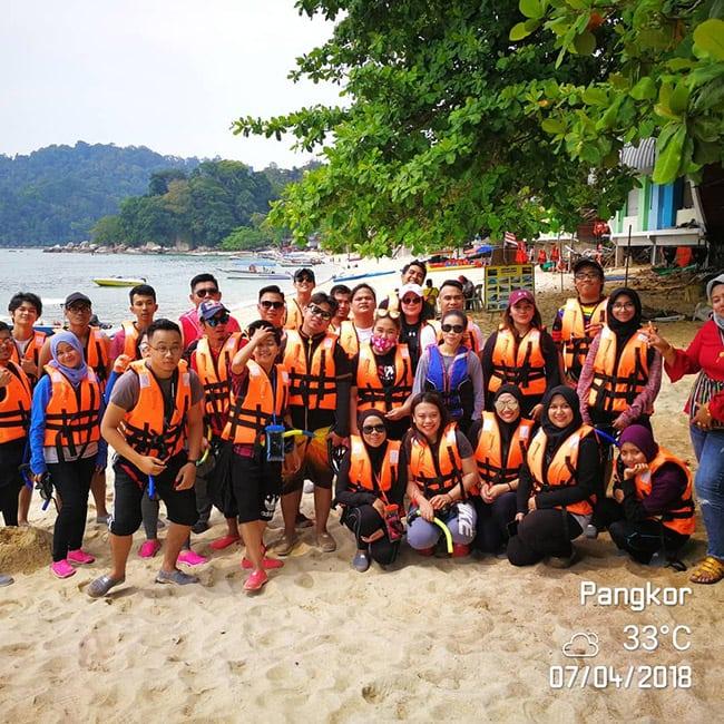 Pakej percutian ke Pulau Pangkor Promosi
