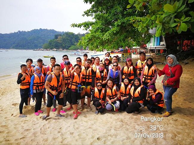 Pakej percutian ke Pulau Pangkor Pantas