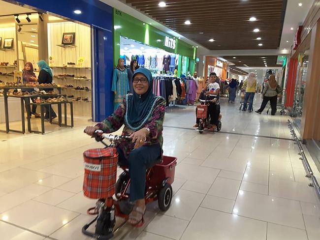 Pembekal Kerusi Roda Bermotor Mall