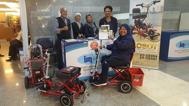 Pembekal Kerusi Roda Bermotor Institut Jantung Negara
