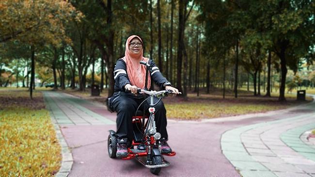 Pembekal Kerusi Roda Bermotor Taman
