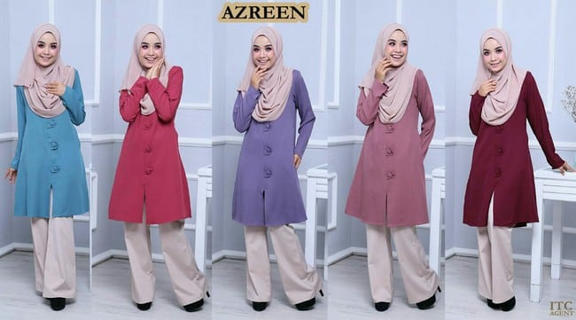 blouse azreen