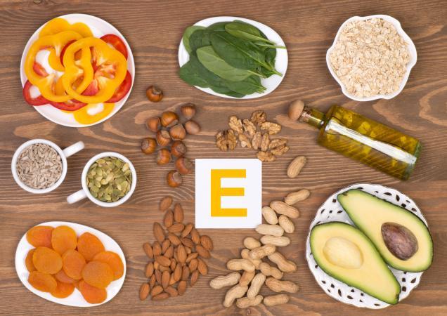 vitamin E untuk kesihatan kulit